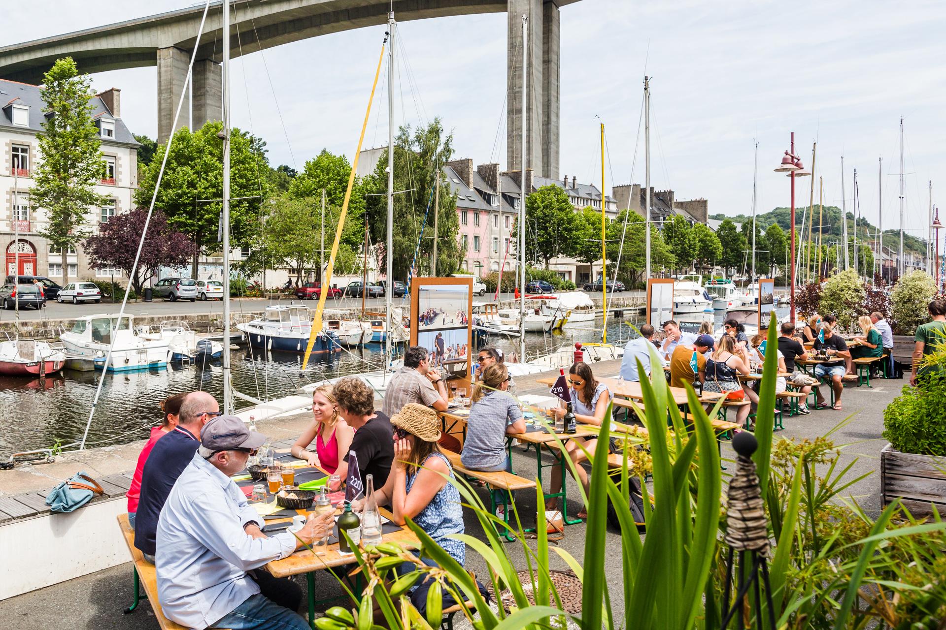 Saint-Brieuc Le port du Légué
